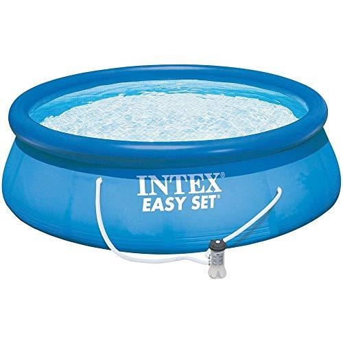 INTEX Swimming Pool Easy Set 28132GN - Pool, Filterpumpe und Filtereinsatz 366x76cm